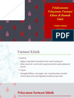 Chintia Farliana_201451032_Pelayanan Farmasi Klinis di RS.pptx