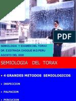 SEMIOLOGIA DEL TORAX  2020 ,agosto
