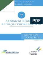 Exercícios de Farmácia Clínica
