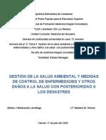 SEM 12. TEMA 5 GESTION DE LA SALUD AMBIENTAL...