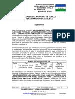 CERTIFICADO FUENTE DE FINANCIACION