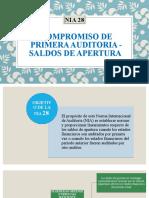 Compromiso de primera auditoria - Saldos de apertura.pptx