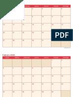 calendario-2020-mensual-cherry