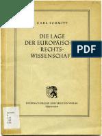 Carl Schmitt - Die Lage der europäischen Rechtswissenschaft (1950).pdf