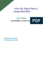Fundamentos de Algoritmos y Computabilidad