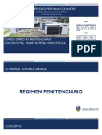 SEMANA 10_RÉGIMEN PENITENCIARIO