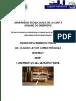 DERECHO FISCAL(1)