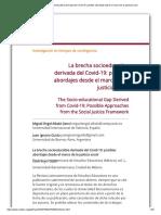 La brecha socioeducativa derivada del Covid-19_ posibles abordajes desde el marco de la justicia social.pdf