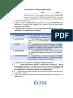 I PARCIAL ANALISIS DE SISTEMAS DE PRODUCCIÓN II 1