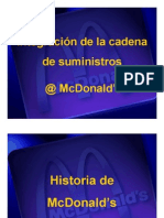 McDonalds Supply Chain Integration Vision - ESPANOL