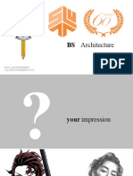 Career Orientation - ARCHITETCURE- 2019