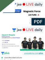 [L5] Magnetic Force 28thJune