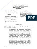 Compliance Petition Extraordinary Remedies