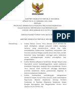 KMK No. HK.01.07-MENKES-1591-2020 Ttg Protokol Kesehatan Di FASYANKES Dalam Pencegahan COVID-19
