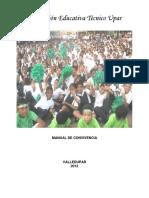 MANUAL DE CONVIVENCIA UPAR 2012