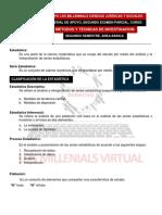 MÉTODOS Y TÉCNICAS DE INVESTIGACIÓN, segundo parcial