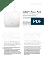 2. Juniper - Mist AP41 Access Point