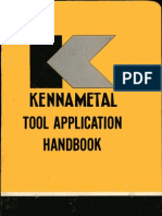 Kennametal Tool Application Handbook