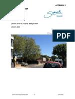 Appendix 1 Draft design brief