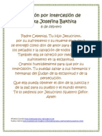 Oración Josefina Bakhita