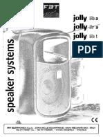 JOLLY5 Manual_ACTIVE_SPEAKER_JOLLY_5R_FBT
