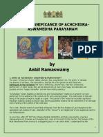 Achidram aswamedham Importance.pdf