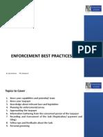 ENFORCEMENT BEST PRACTICES PRA Format.pptx