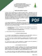 Edital Leilão Detran-DF outubro 2020