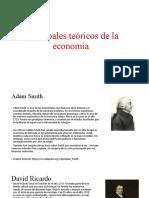 Principales teóricos de la economía tarea 11 economia