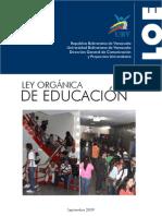 LOE (ley organica de educación)