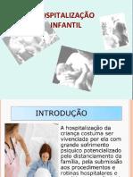 HOSPITALIZAÇÃO INFANTIL