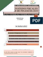MODIFICATIONS DE LA LF 2019