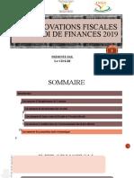 MODIFICATIONS DE LA LF 2019 [Enregistrement automatique]
