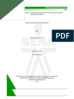 Tutorial Instalacion y Configuracion Servicio Web - Apache2