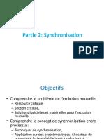 1- Communication et synchronisation entre processus 2