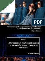 Presentación1 alex metodologia de la investigación
