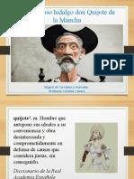 contextualización Quijote
