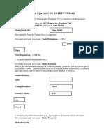 GUIA PARA ESTRUCTURAS CON MSC NASTRAN V 4.5