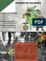 MEGADIVERSIDAD EN COLOMBIA