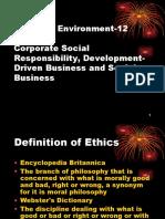 Business Environment 12 (Ethics, CSR, SB).ppt