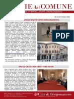 Notizie Dal Comune di Borgomanero del 9-10-2020