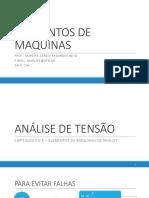 2 - ANÁLISE DE TENSÃO