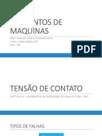 4 - TENSÃO DE CONTATO
