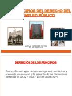 2 UNIDAD.- PRINCIPIOS DE LA LEY DEL SERVICIO CIVIL
