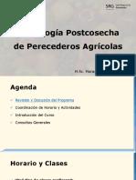 Tecnología Postcosecha de Perecederos Agrícolas