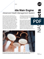 NASA Facts Space Shuttle Main Engine Advanced Health Management System