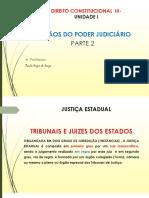 Direito Consttitucional III - ÓRGÃOS DO PODER JUDICIÁRIO- PARTE 2
