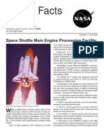 NASA Facts Space Shuttle Main Engine Processing Facility 2001