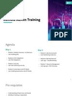 Remote Admin Training