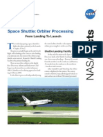 NASA Facts Space Shuttle Orbiter Processing